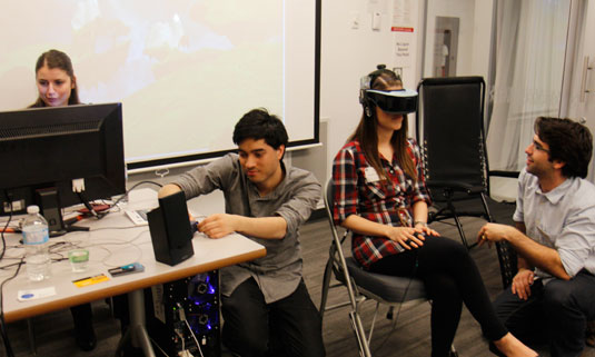 Confronting Virtual Reality: An Undergrad Research Experience